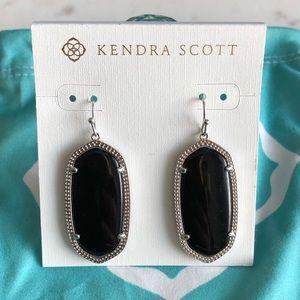 Kendra Scott Black Elle EUC